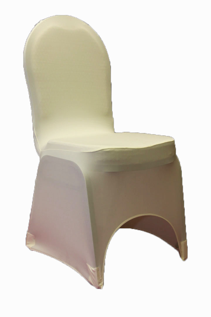 ivory satin chair covers foam folding bed ikea sale simply elegant weddings cover rentals, spandex, scuba