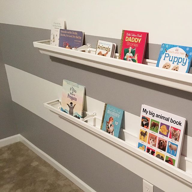 Gutter Bookshelves Diy Simply Elliott