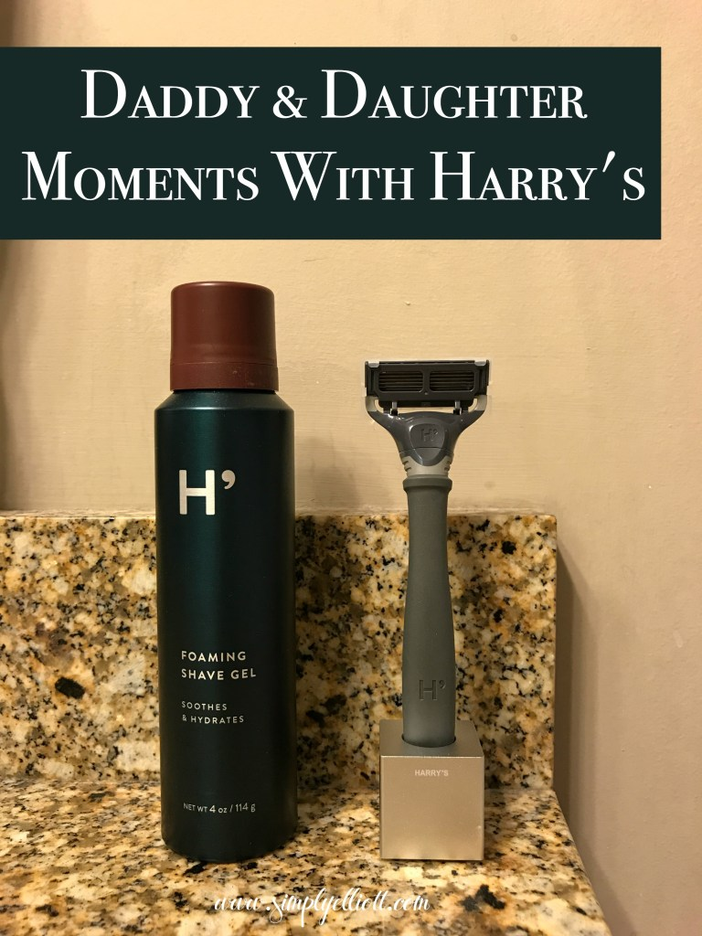 Daddy & Daughter Moments with Harry's | + Giveaway