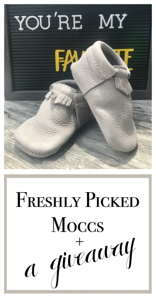 Freshly Picked Moccs | + a Giveaway