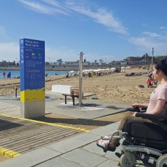 Transport Wheelchair Nova Chair For Office Healthy Accessible Travel Guide To Barcelona Beach Amphibious