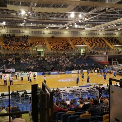Wheelchair Emirates Tom Dixon Wingback Chair Glasgow Rocks Basketball Match At Arena Accessible 2