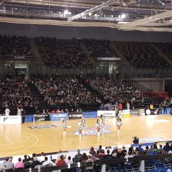 Wheelchair Emirates Green Leather Recliner Chair Glasgow Rocks Basketball Match At Arena Accessible 4