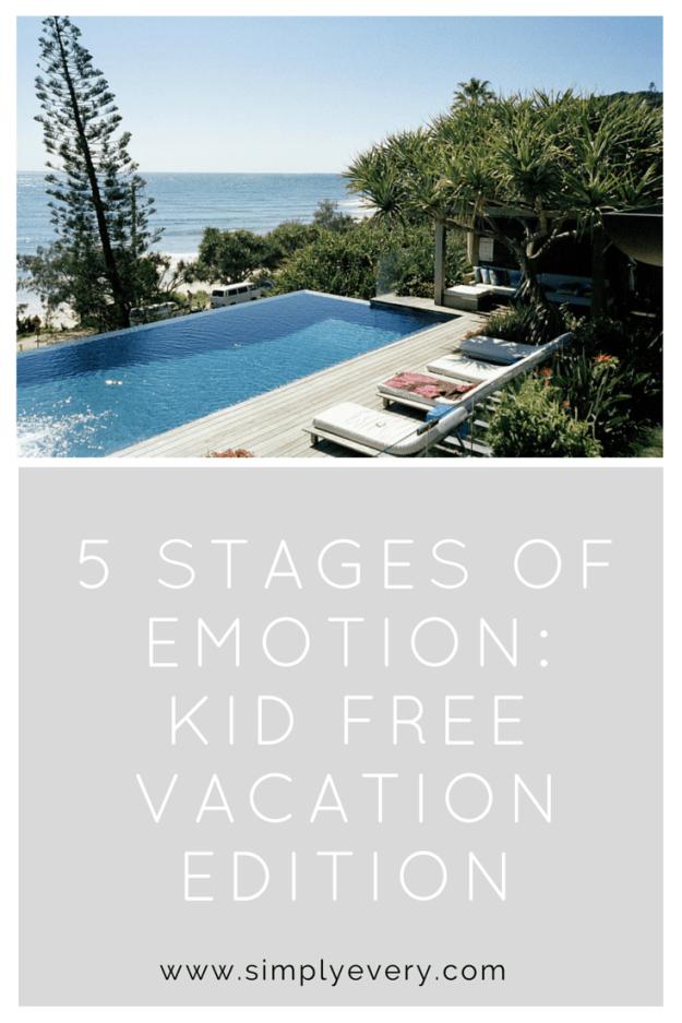 kid free vacation