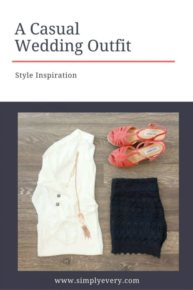 A CasualWedding Outfit
