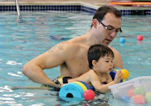 Bonding through Parent & Tot Classes