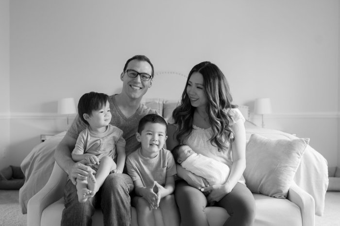 Dubs Party of Five: Newborn Session