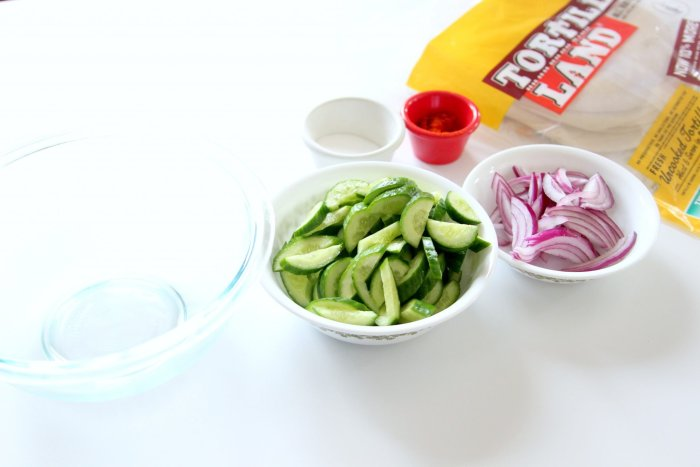 ingredients for easy bulgogi tacos
