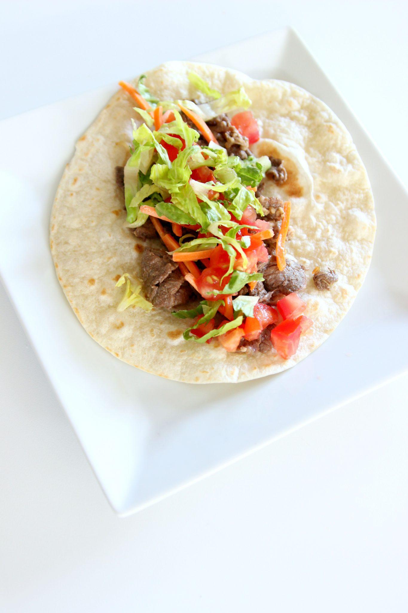 how to make bulgogi tacos