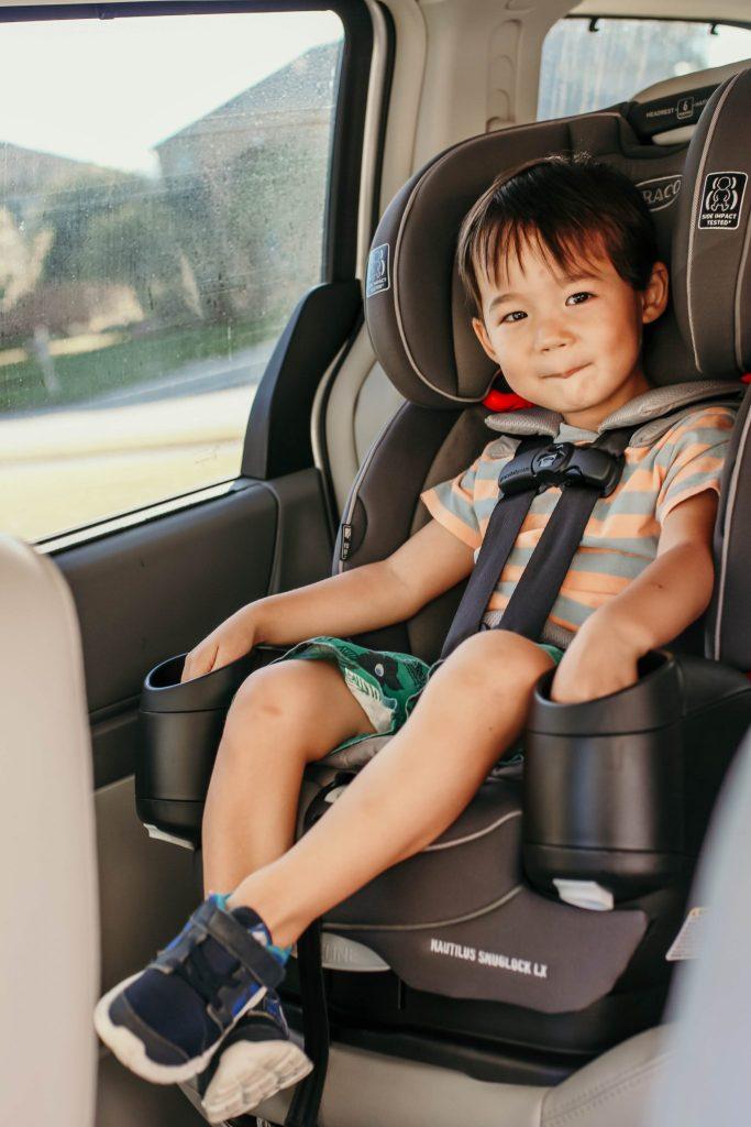 forward facing car seat safety