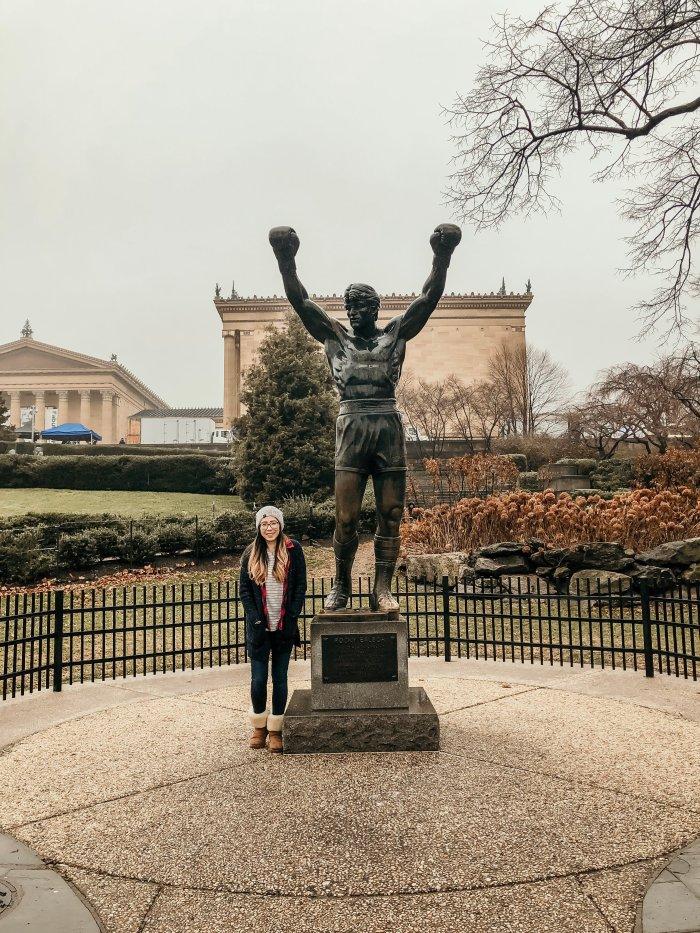 Rocky Statue - Logan Square