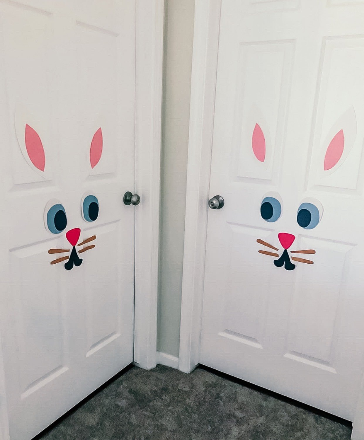 Easy Bunny Rabbit Door Decoration