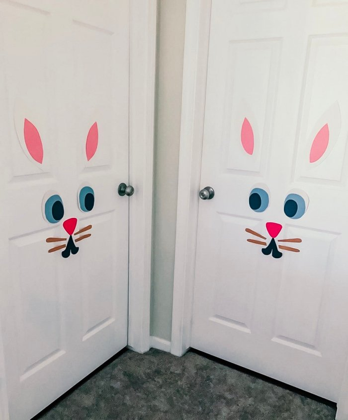 Bunny Rabbit Door Decoration