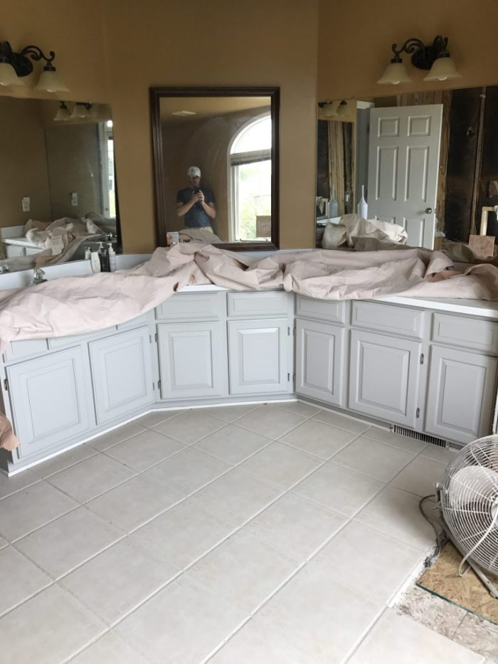 After Our Master Bathroom Renovation by Simply Every