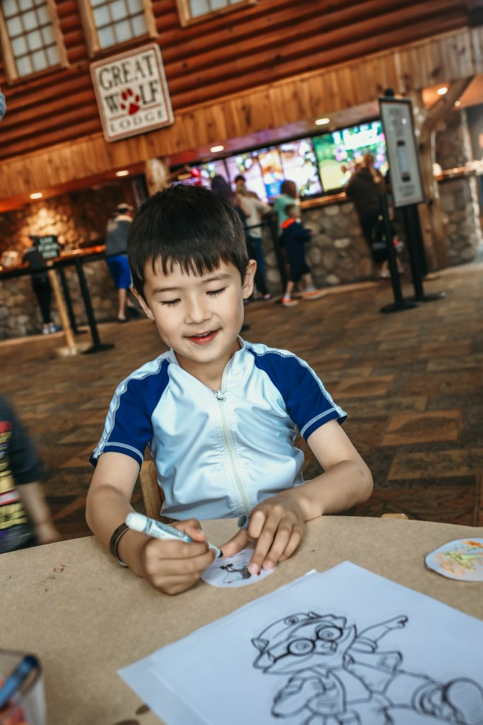 Activities at Great Wolf Lodge