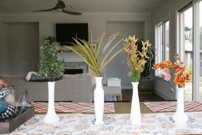 fall home decor floral designs