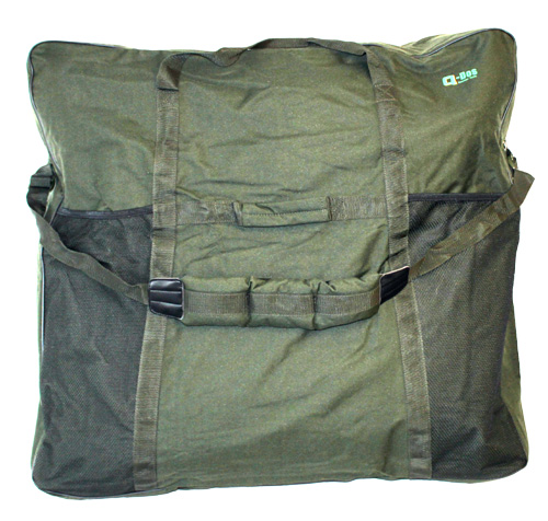 qdos fishing chair folding beds uk q dos deluxe padded bag bed bags grandeslam xl