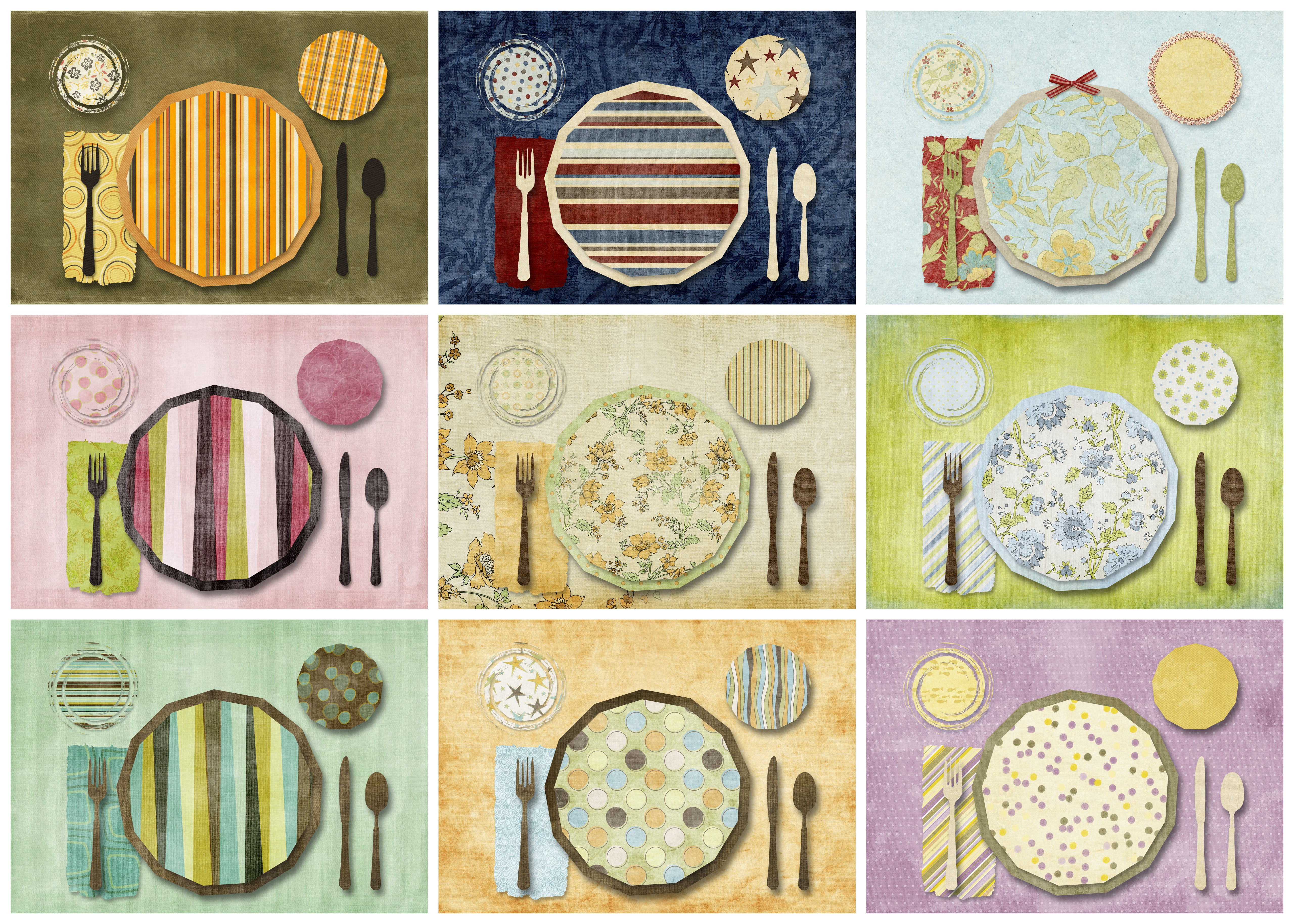 printable placemats