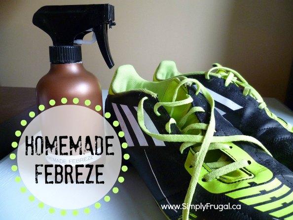 homemade febreze, room spray