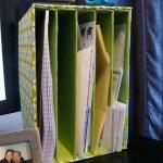 Easy DIY: Mail Organizer