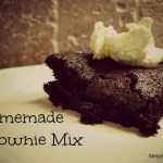 March Mixes – Homemade Brownie Mix