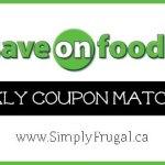 Save On Foods Coupon Matchups