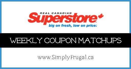 Superstore Coupon Matchups