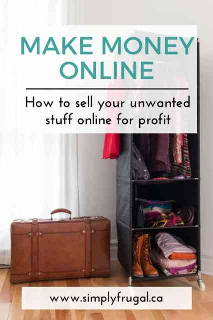 Sell my clothes for cash online