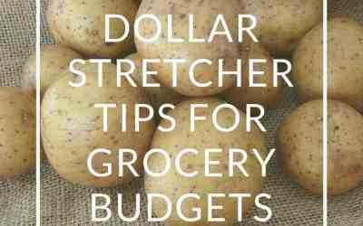 Dollar Stretcher Tips For Grocery Budgets