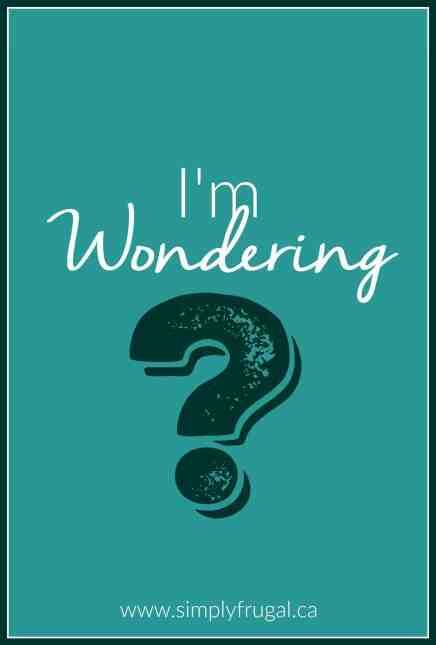 im wondering