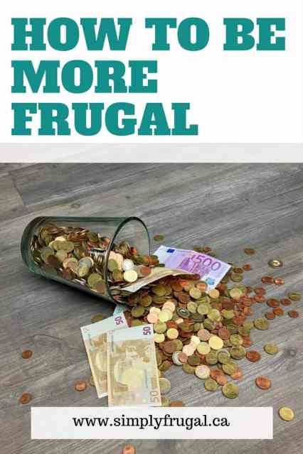 How to be More Frugal