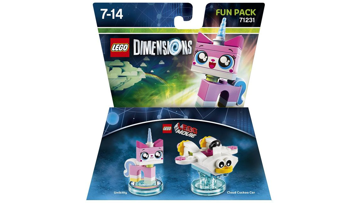 Lego Dimensions The Lego Movie Fun Pack Unikitty On PS4