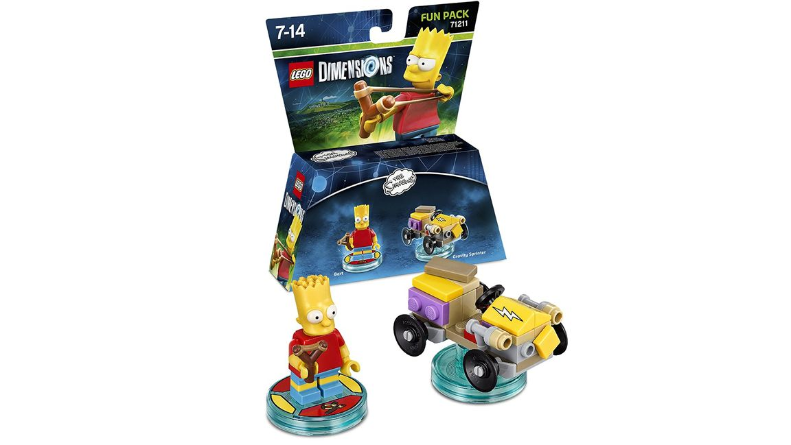 Lego Dimensions The Simpsons Fun Pack Bart Simpson On