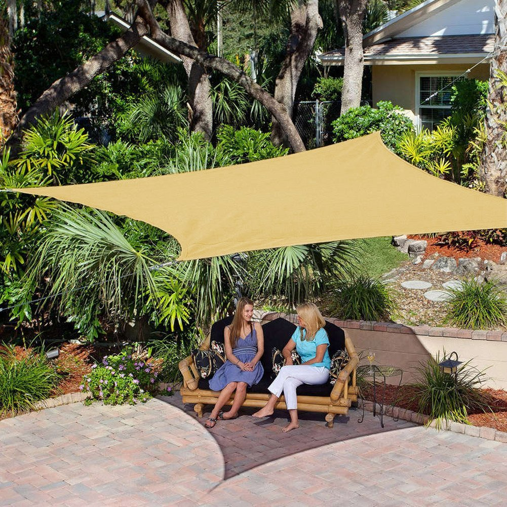 Coolaroo 16 Foot By 5 Inch Triangle Shade Sail