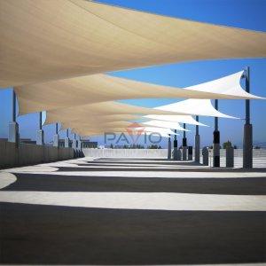Patio Paradise 16'x20' Tan Beige Sun Shade Sail Rectangle Canopy