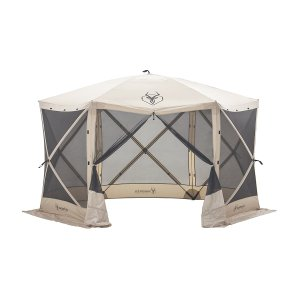 Gazelle 21500 G6 Pop Up Portable 6 Sided Hub Gazebo , 8 Person