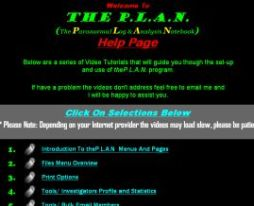 paranormal investigations software