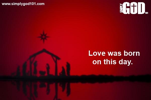 Christmas Love Simply God 101