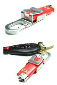 Lighter Holder - A Clip-able Key Chain Tool from Screwpop