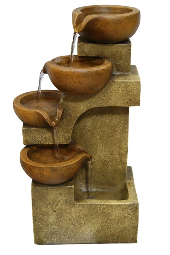 Four Tier Pouring Pots Fountain  WCT726