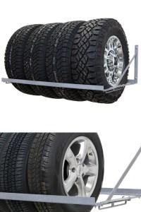 Wall Mounted Tire Rack