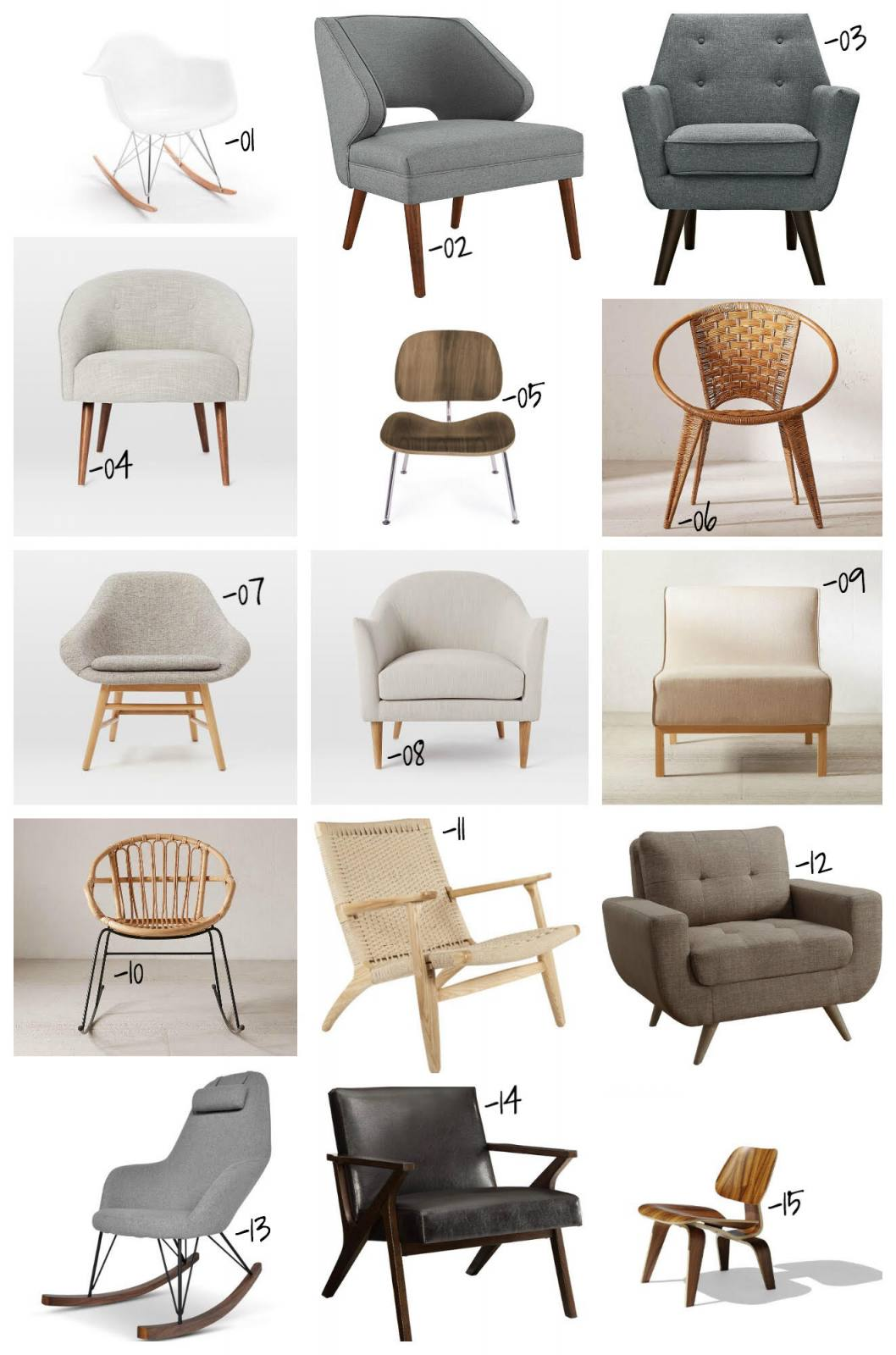 chair design styles mickey mouse folding 30 mid century modern chairs under 500 for your home