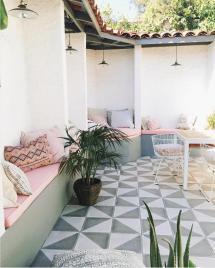 Spanish Aesthetic In Patio - Simply Grove