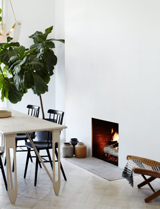 Tour Historical Brooklyn Brownstone with Modern Style via Simply Grove