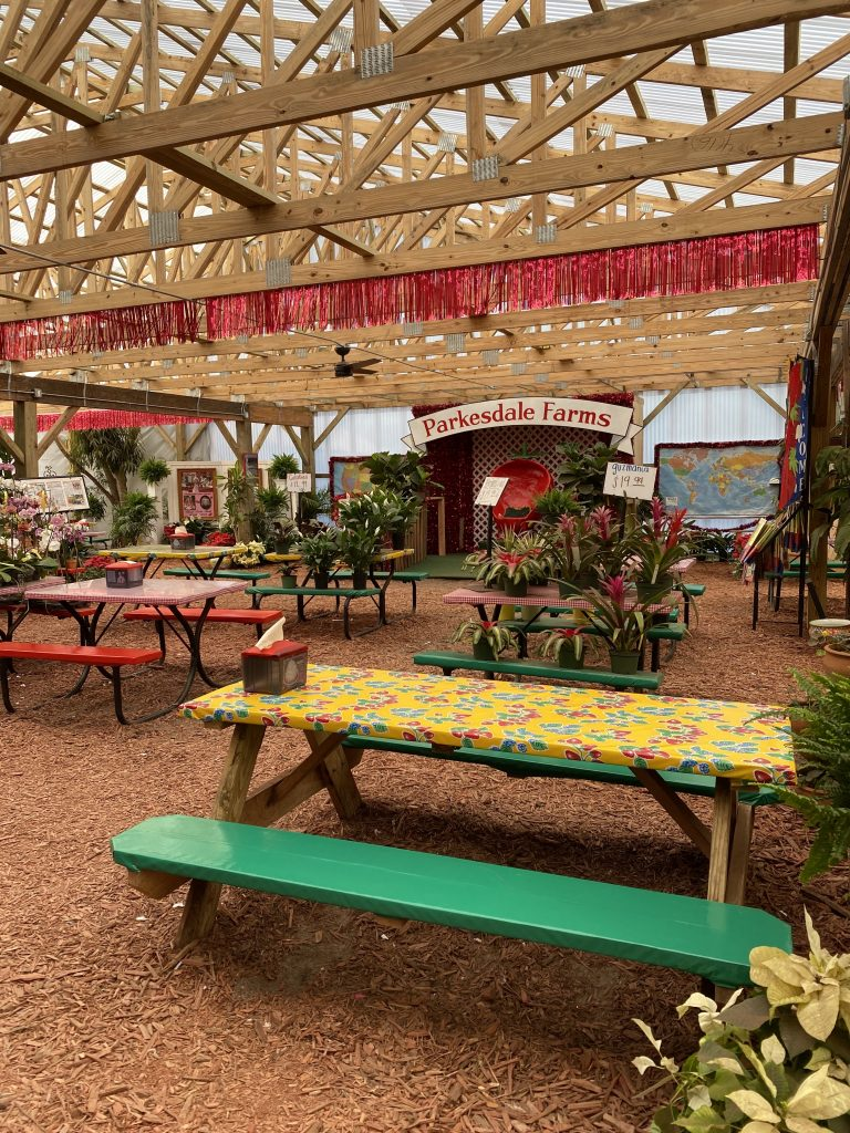 Parkesdale farms seating area