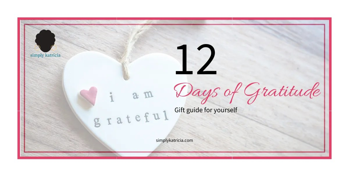 12 Days of Gratitude