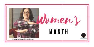 womens month Sandy