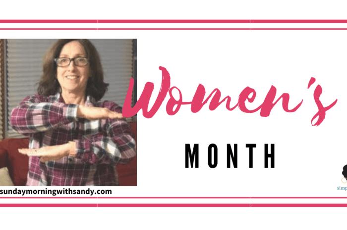 Celebrating Women's History Month with Sandra Riguzzi