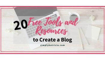 blogging tools and resources