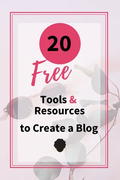 tools and resources for a blog
